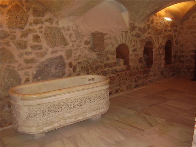 Extremadura romana - Dormir en banos de montemayor ...